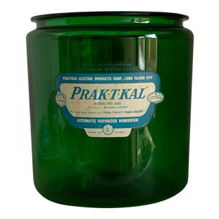 "One Gallon ""Prak-T-Kal"" Vaporizer Jar Green Jar For Sale"