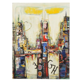 Chicago Cityscape Collage Artwork For Sale