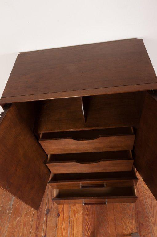 Mid Century Bureau By Lane Furniture Of Alta Vista, Virginia. Having  Rosewood Finished
