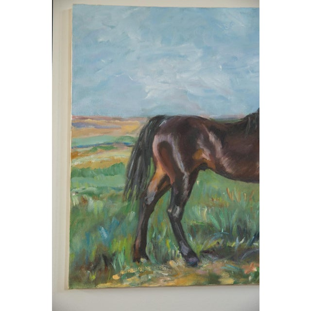 """Grace B. Keogh """"Brown Horse"""" Painting For Sale In New York - Image 6 of 8"""