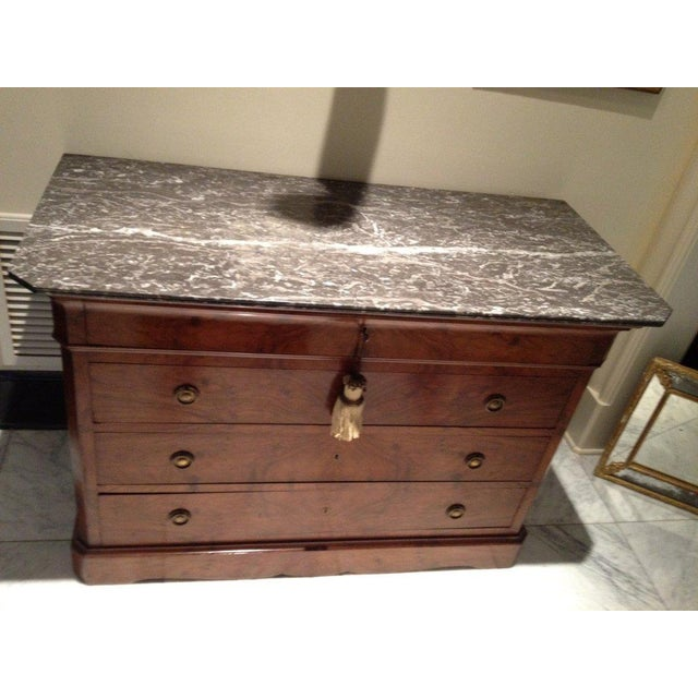 French Early 19th Century Louis Philippe Commode For Sale - Image 3 of 7