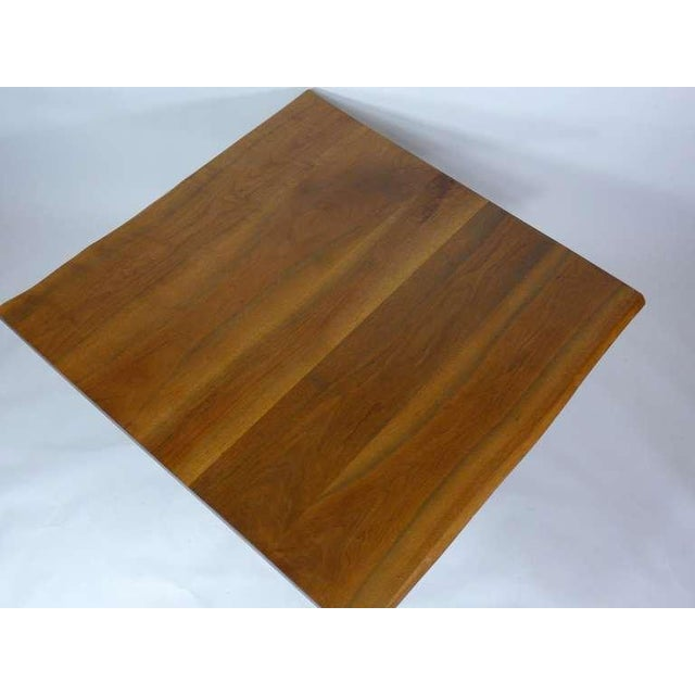 Walnut George Nakashima Frenchman's Cove Dining Table For Sale - Image 7 of 9