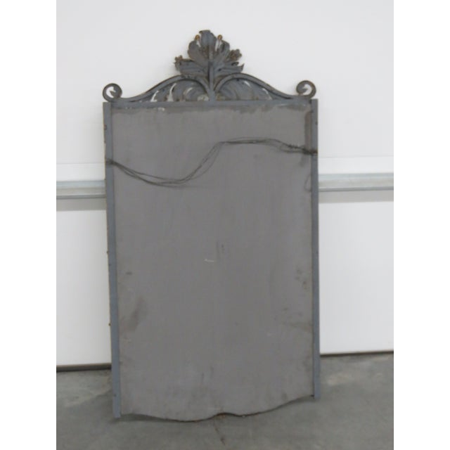 Venetian Style Wrought Iron Console and Mirror For Sale - Image 11 of 12