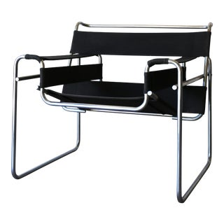 Marcel Breuer Stendig/Gavina Wassily B3 in Canvas Chair