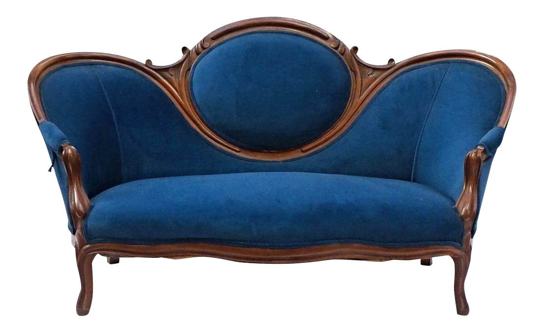 19th Century Antique Victorian Sofa Chairish