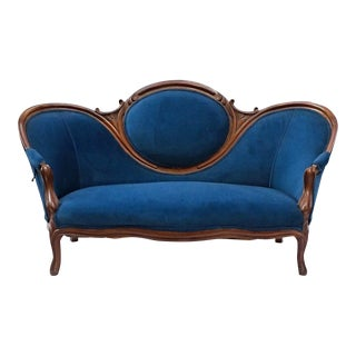 19th Century Antique Victorian Sofa For Sale