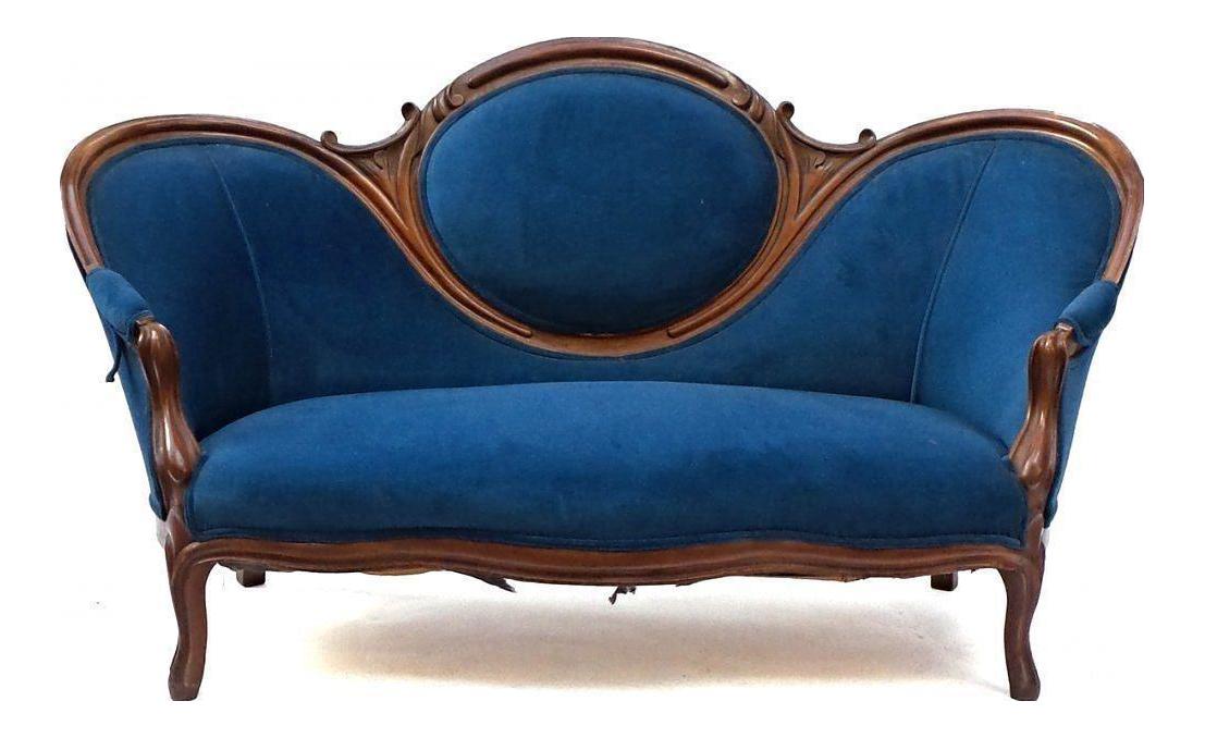Superior 19th Century Antique Victorian Sofa