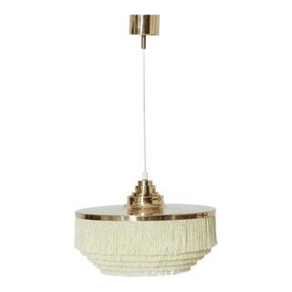 Hans Agne Jakobsson T-603 Fringe Ceiling / Pendant Lamp, Sweden, 1960s For Sale