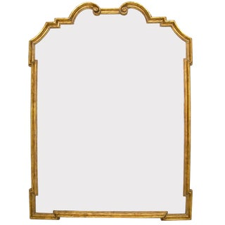 Italian Gilt-wood Designer Mirror by Randy Esada Designs for PROSPR For Sale