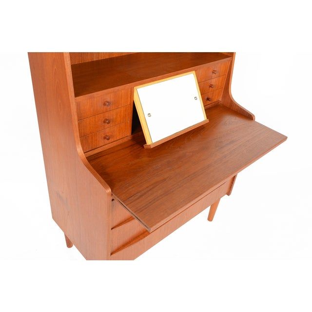 Danish Modern Secretary Bookcase - Image 6 of 10