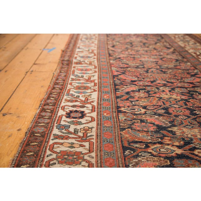 "Antique Bijar Rug Runner - 3'7"" X 10'7"" - Image 4 of 7"