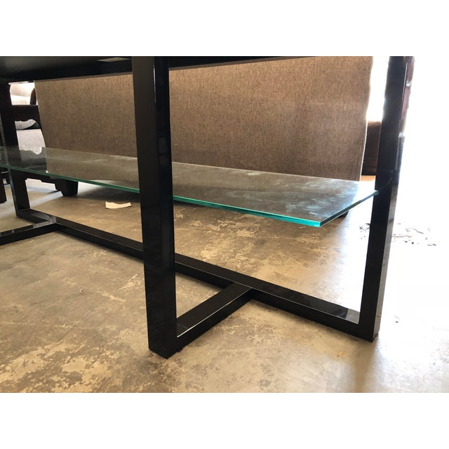 2010s Contemporary Furnitech Signature Home Console Table For Sale - Image 5 of 7