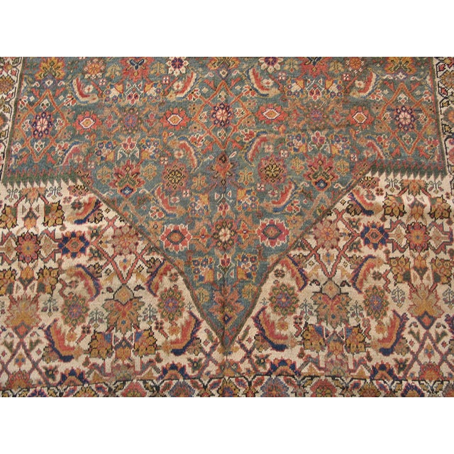 """Antique Nw Persian Rug 6'10"""" X 17'0"""" For Sale - Image 4 of 8"""