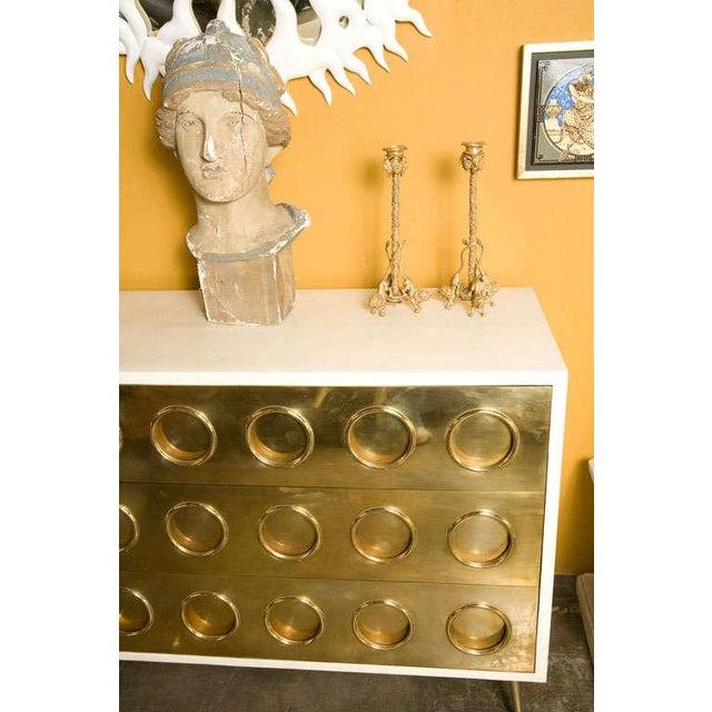 Pair Renaissance-Style Gilt Bronze Candlesticks - Image 10 of 10