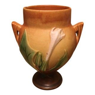 """Roseville Art Deco """"Thorn Apple"""" Vase"""
