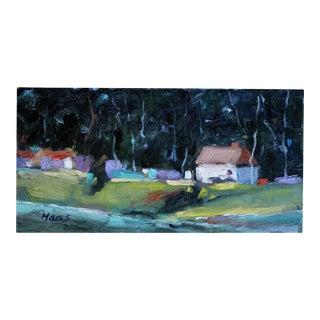 Original Oil Painting, Plein Air Landscape California For Sale