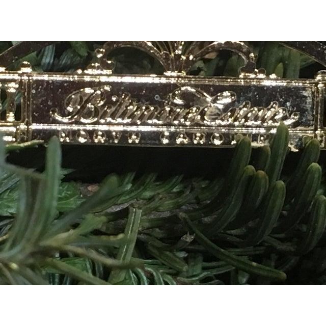 Metal Biltmore Estate Christmas Tree Ornament For Sale - Image 7 of 9