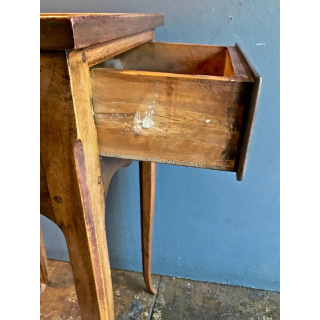 Brown 19th Century Vintage French Louis XV-Style Walnut Stands- A Pair For Sale - Image 8 of 9