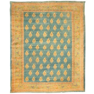 Exceptional Antique 19th Century Turkish Borlu Carpet For Sale