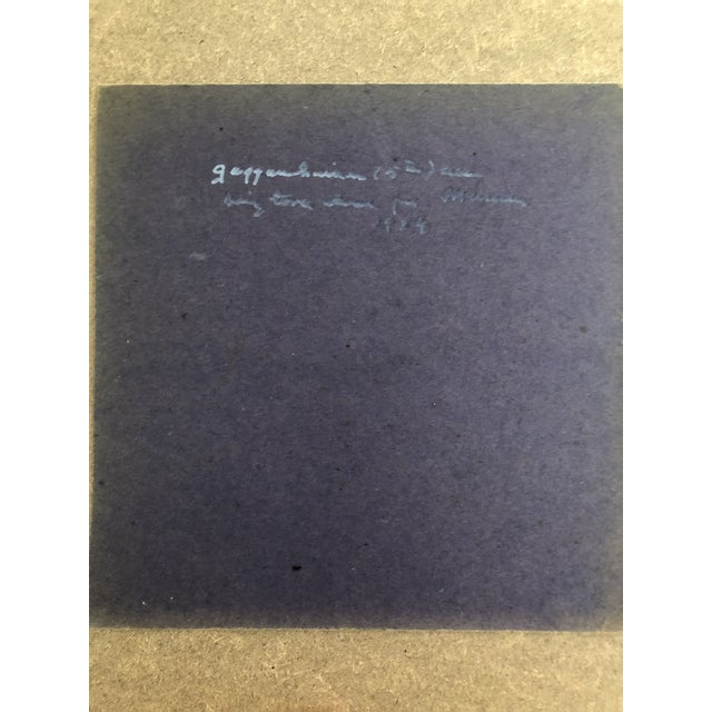 "Pastel 1954 Vintage Eliot Clark ""Demolition for the Guggenheim Museum"" Drawing For Sale - Image 7 of 9"
