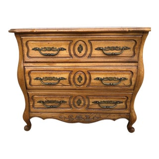 Traditional Hickory Furniture Bombay Style Chest of Drawers For Sale