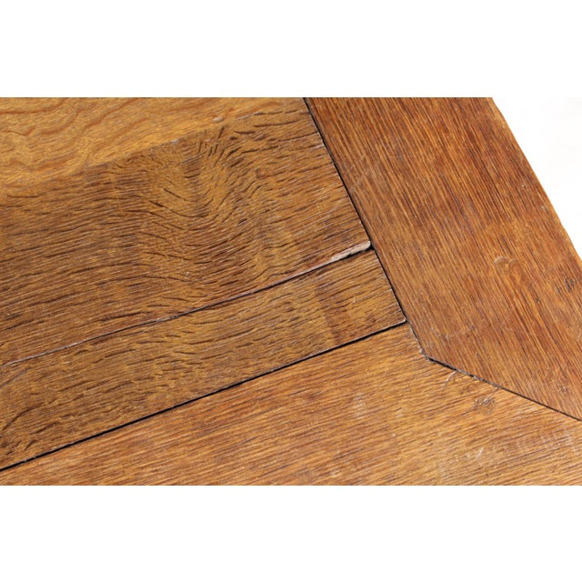 Mid-Century Tudor-Style Coffee Table For Sale - Image 10 of 11