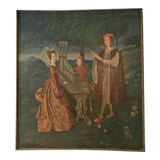 Early Renaissance Style Original Painting For Sale