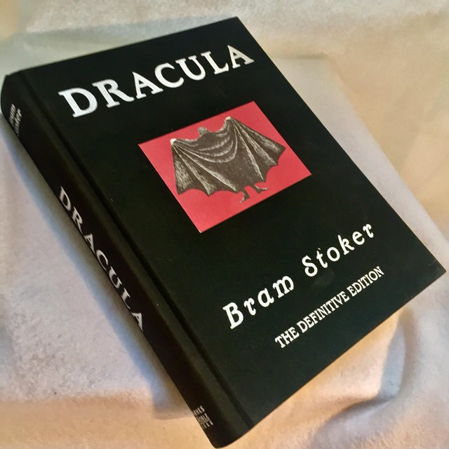 Traditional Dracula Book Collector's Edition Illustrated by Edward Gorey For Sale - Image 3 of 6