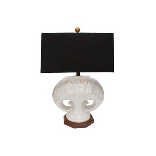 Double Elephant Lamp