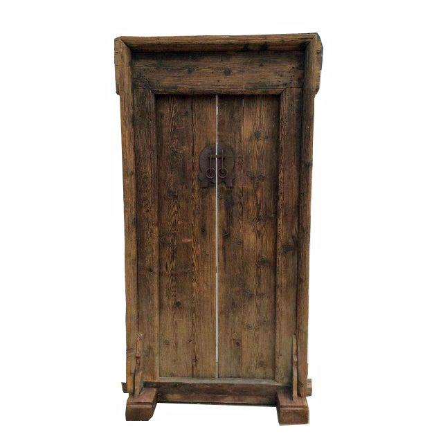 Mid-19th Century Antique Asian Wood Door For Sale - Image 4 of 7 - Mid-19th Century Antique Asian Wood Door Chairish