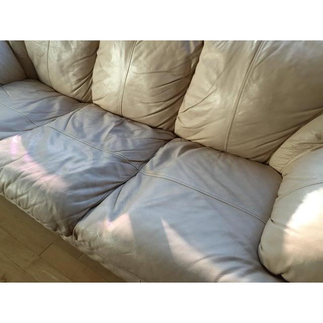 Natuzzi Italian Leather Sofa - Image 5 of 11