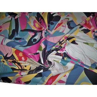 Scalamandre Butterfly Explosion Fabric by Diane Von Furstenberg Bty For Sale