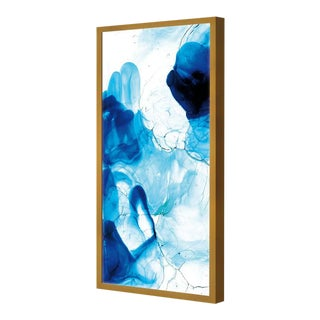Acquarelli Framed Light Fixture in Shades of Blue Resin by Jacopo Foggini For Sale
