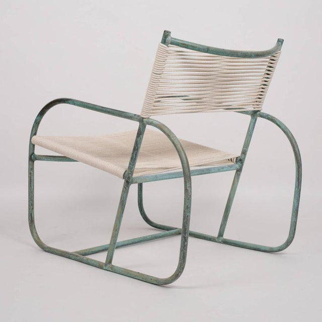 Mid-Century Modern Early Model Walter Lamb Lounge Chair For Sale - Image 3 of 9