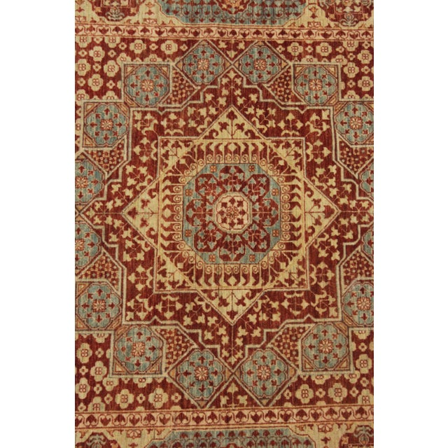 """Hand Knotted Mamlok Rug by Aara Rugs Inc. - 8'6"""" X 6'1"""" For Sale - Image 4 of 5"""