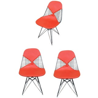"Herman Miller Eames DKR ""Bikini"" Chairs - Set of 3"