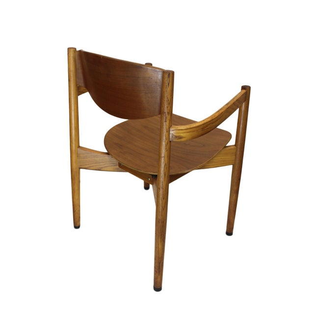 Vintage Jens Risom Stacking Chairs - Set of 6 - Image 3 of 6