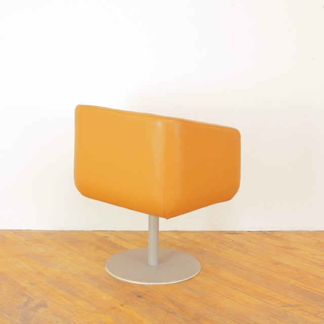 Late 20th Century Loewenstein Cube Swivel Chairs - a Pair For Sale In San Francisco - Image 6 of 11