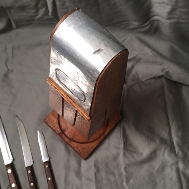 Flint Mid-Century Modern Knife Set - Image 7 of 10