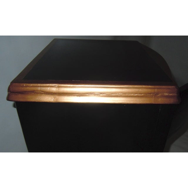30s Mid Century Ebony Side Table - Image 8 of 8