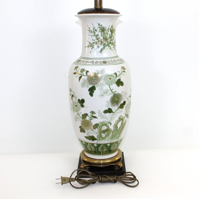 Overscale Vintage Japanese Porcelain Lamp - Image 5 of 10