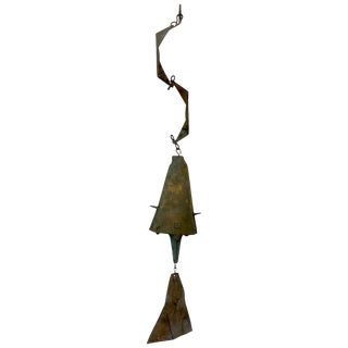 Bronze Wind Chime by Paolo Soleri Cosanti For Sale