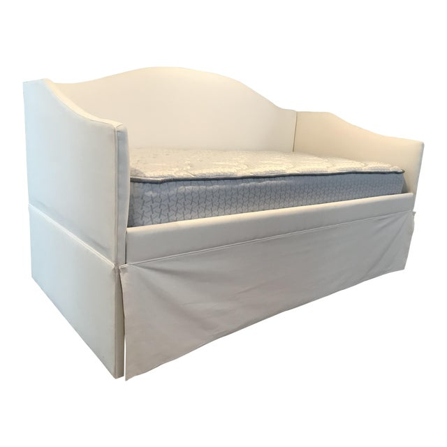 White Ballard Designs Daybed Frame / Sofa For Sale - Image 8 of 8