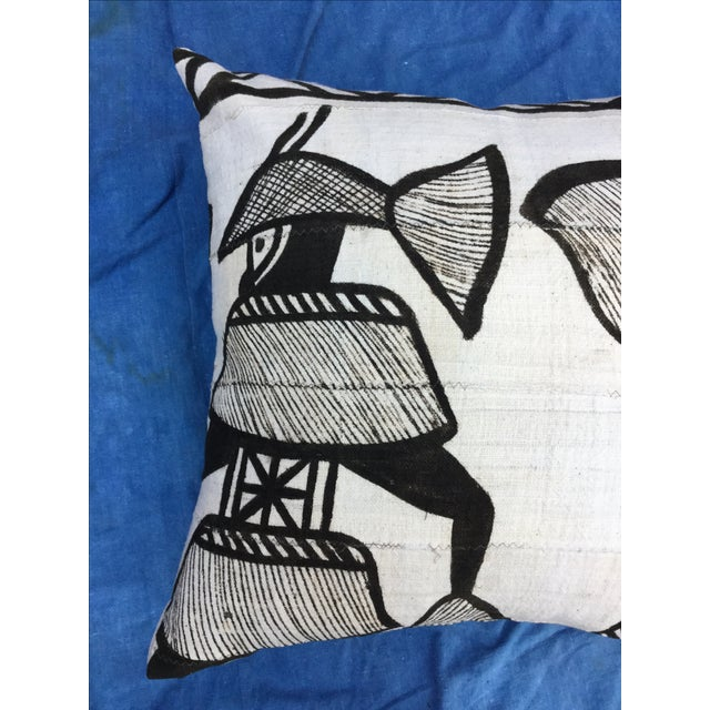 African Tribal Mudcloth Pillow For Sale - Image 4 of 7