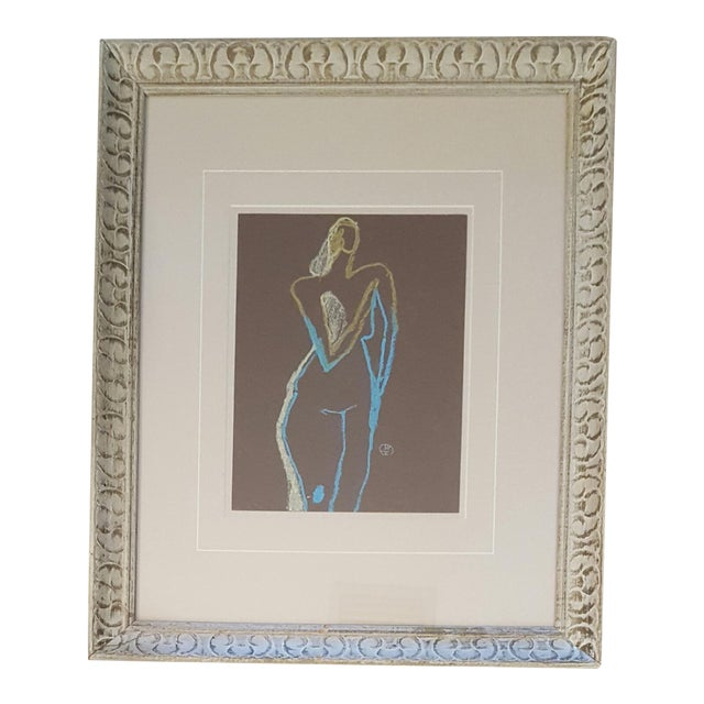 Abstract Nude Drawing - Image 1 of 3