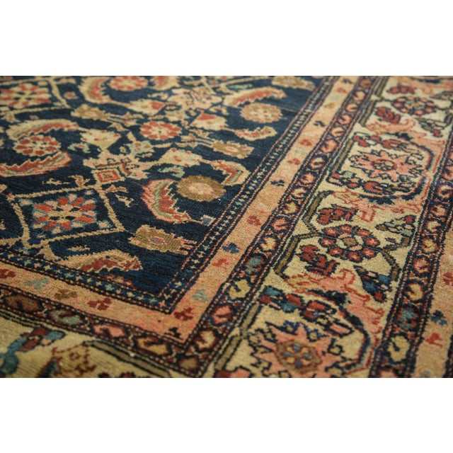 "Vintage Malayer Square Rug - 5' x 6'2"" - Image 6 of 9"