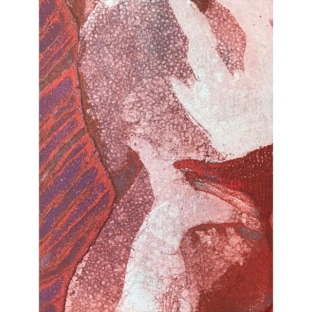 """Vintage Modernist Nude Etching """"Joseph Had a Dream"""" by Ruth Weisberg 1967 For Sale In New York - Image 6 of 9"""
