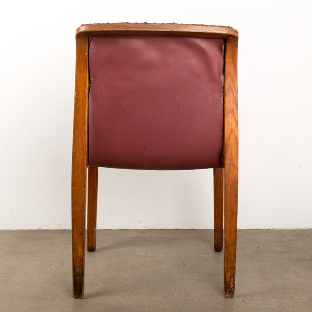 1960s Bill Stephens for Knoll Bent Wood Dining Chair For Sale - Image 5 of 13