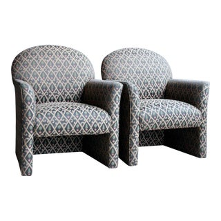 1980s Contemporary Armchairs, a Pair For Sale