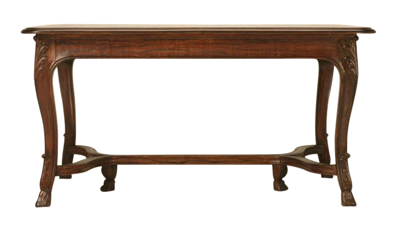 French Dining Table With Pull Out Leaves, Circa 1930s For Sale